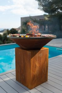 show cooking brasero barbecue